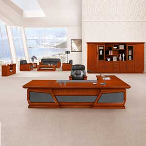 实木老板桌 3.6米 3.2米 展翅腾飞  HY-D鸿业7号
