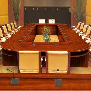 经典大型实木 会议桌 HY-A8900 佛山办公家具品牌