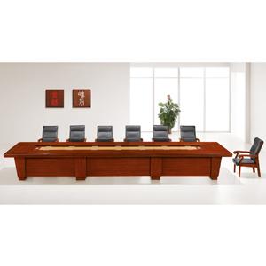 实木组合会议桌 4米、6米、8米 高档气派 HY-A9248