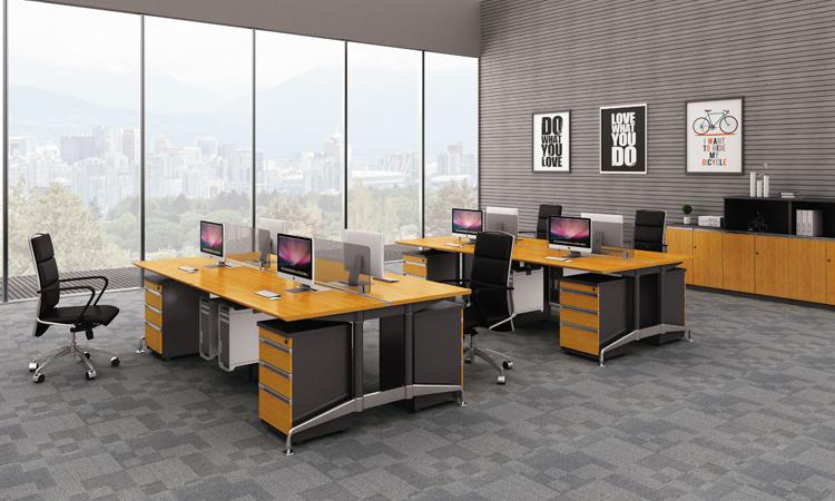 现代屏风办公桌 H60-0203